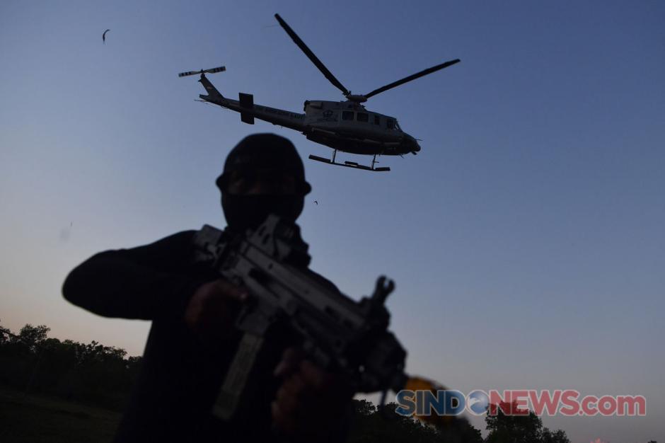 TNI AL Gelar Latihan Gabungan Pasukan Khusus-7