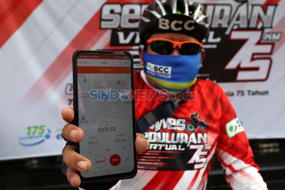 BPJamsostek Jawa Timur Gelar Gowes Seduluran Virtual-3