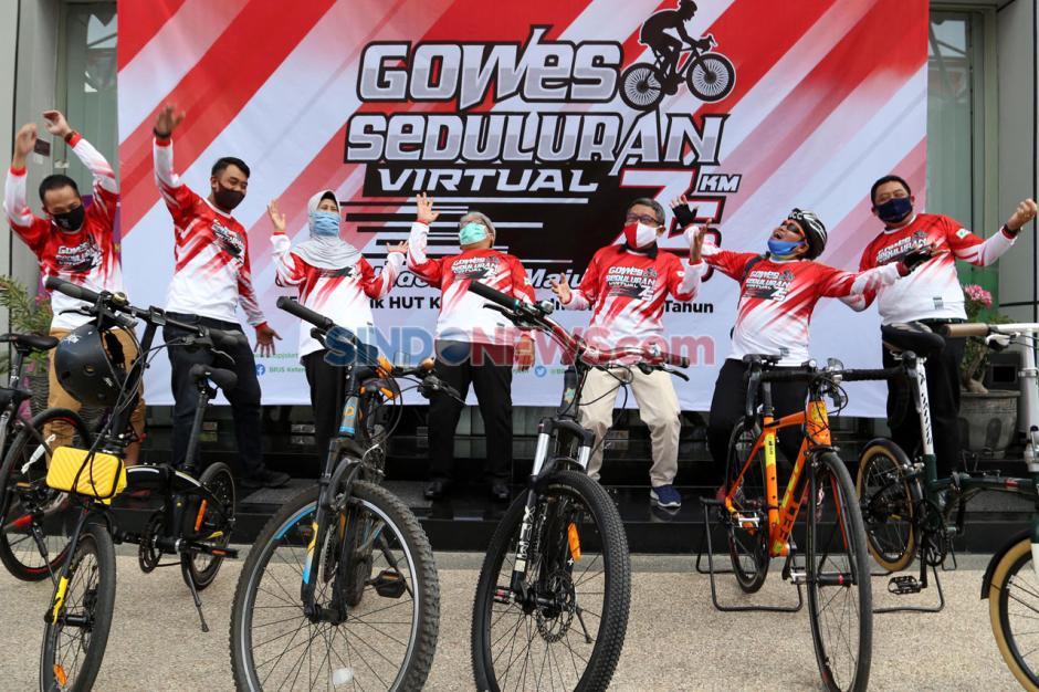 BPJamsostek Jawa Timur Gelar Gowes Seduluran Virtual-0