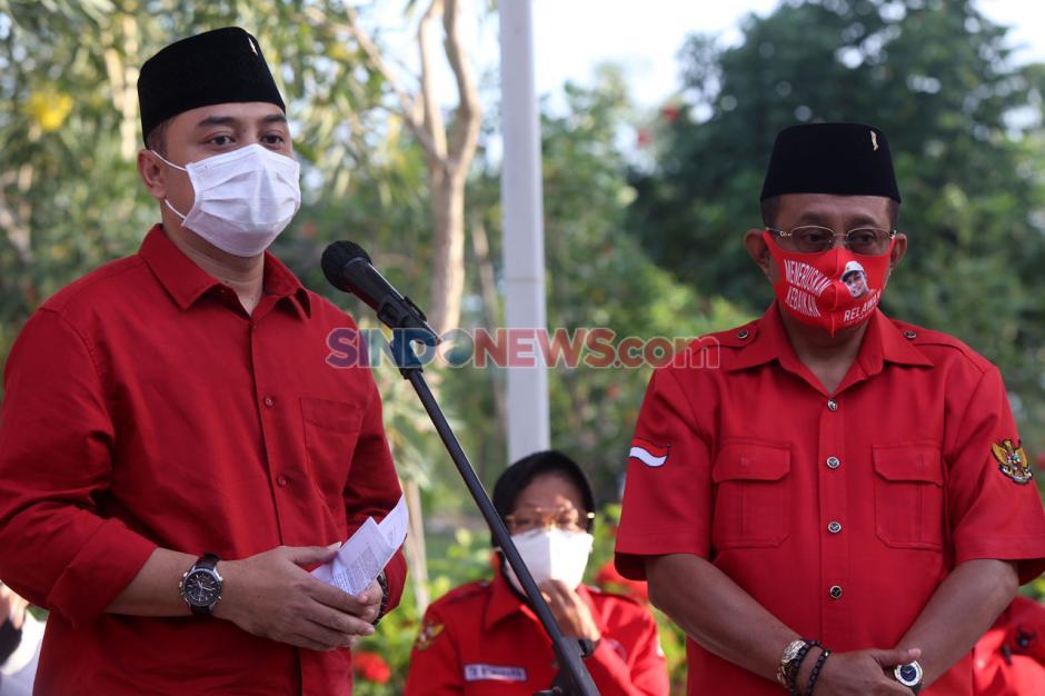 PDI Perjuangan Usung Eri Cahyadi-Armuji di Pilkada Surabaya-3