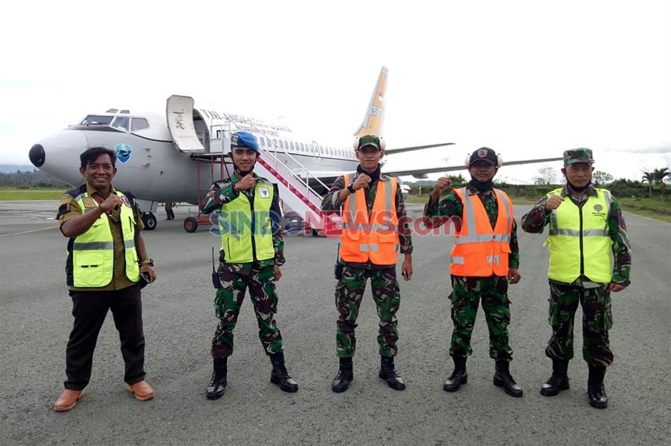 TNI AU Gelar Operasi Sayap Tarsius di Perairan Laut Sulawesi-2