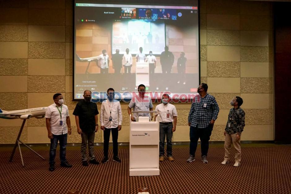 Garuda Indonesia Internalisasikan Core Value BUMN Akhlak-2