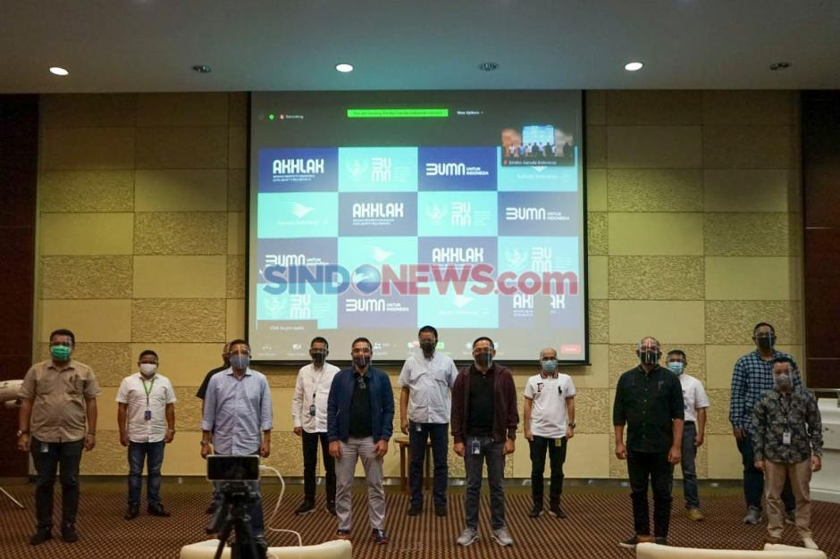 Garuda Indonesia Internalisasikan Core Value BUMN Akhlak-1