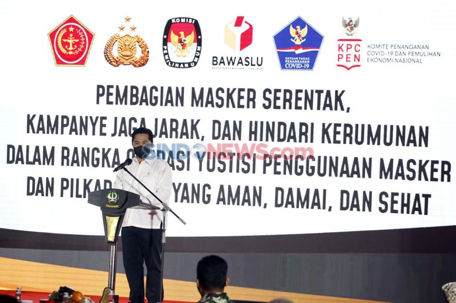 Gerakan Kampanye Masker Serentak Jelang Pilkada Serentak 2020-3