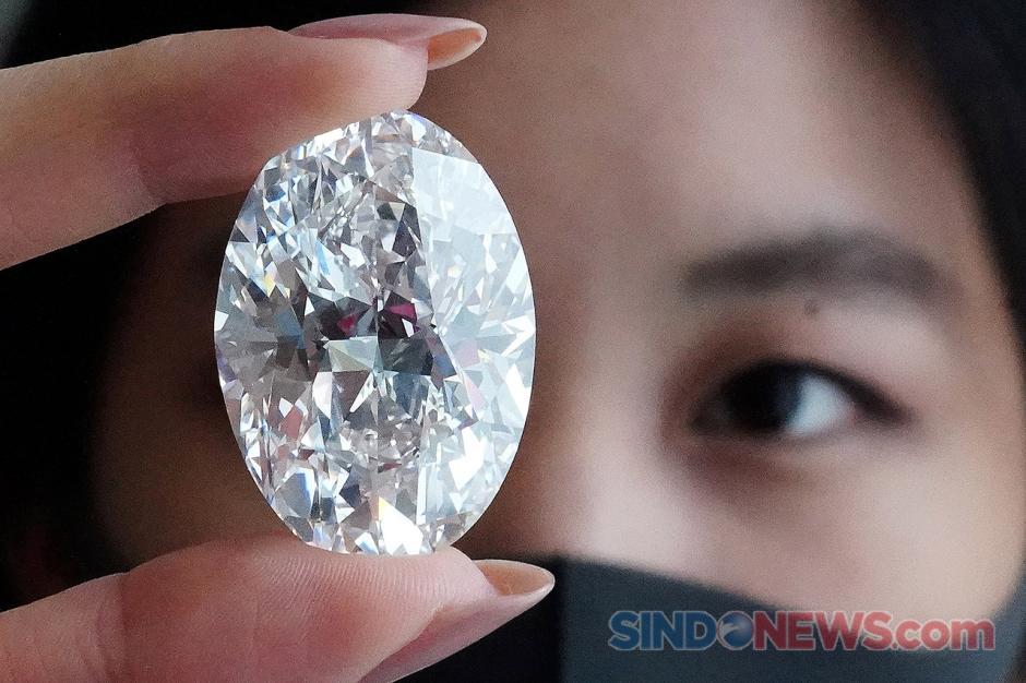 Rumah Lelang Sotheby Perlihatkan Berlian 102 Karat-2