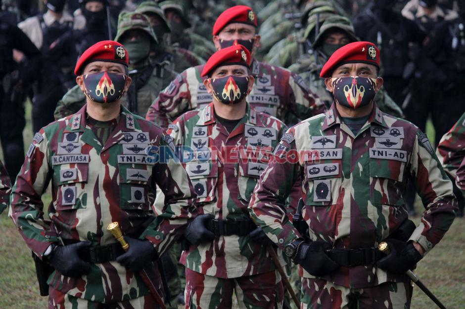 Brigjen TNI Mohammad Hasan Resmi Jadi Komandan Jenderal Kopassus-1