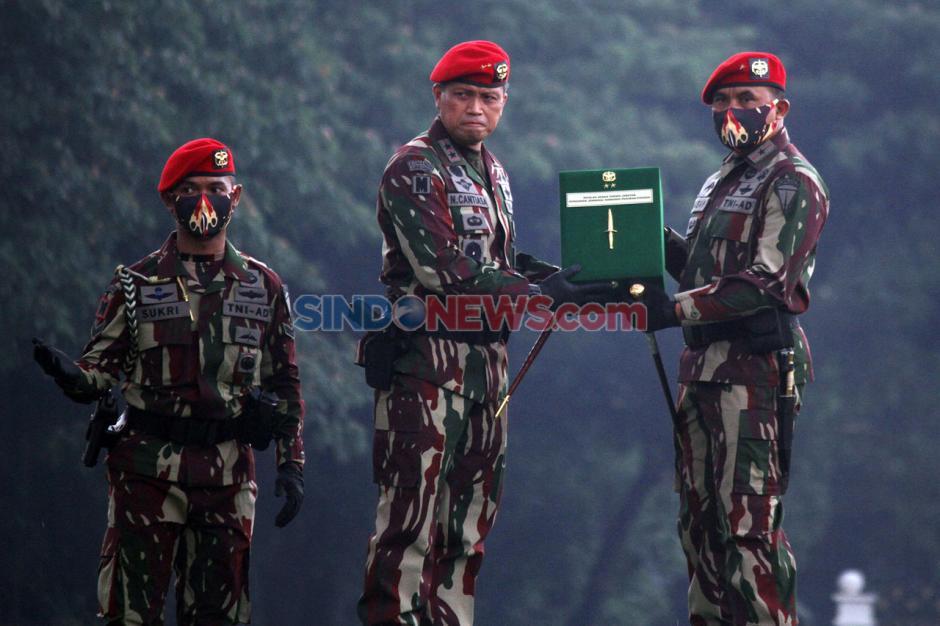 Brigjen TNI Mohammad Hasan Resmi Jadi Komandan Jenderal Kopassus-3