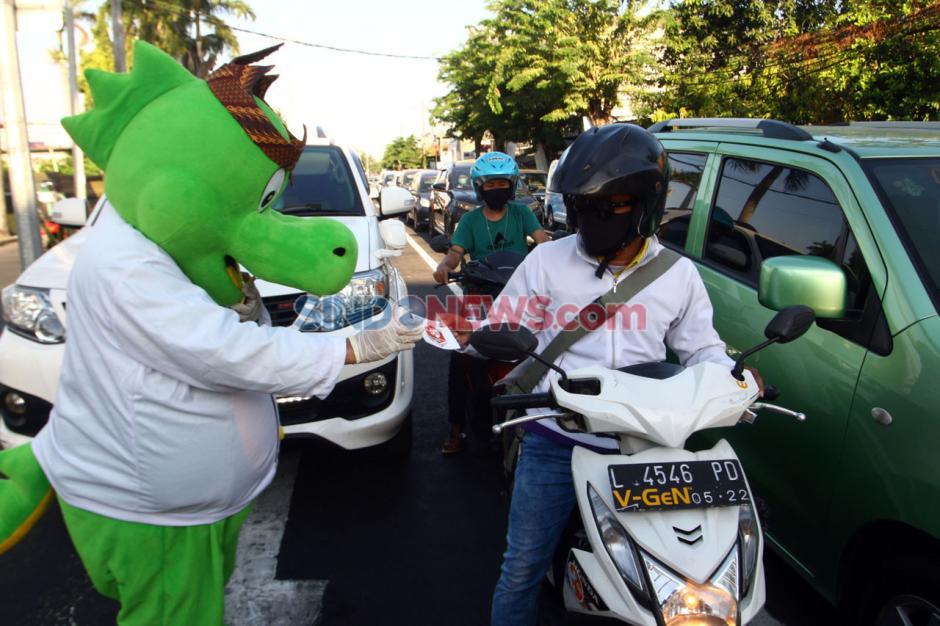 Siro dan Siboy Turun Jalan Sosialisasi Pilwali Surabaya-0