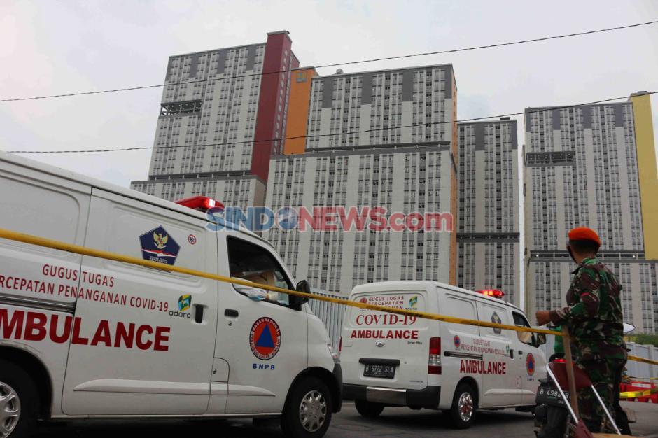 Rumah Sakit Darurat Wisma Atlet Dipastikan Belum Terisi Penuh-4