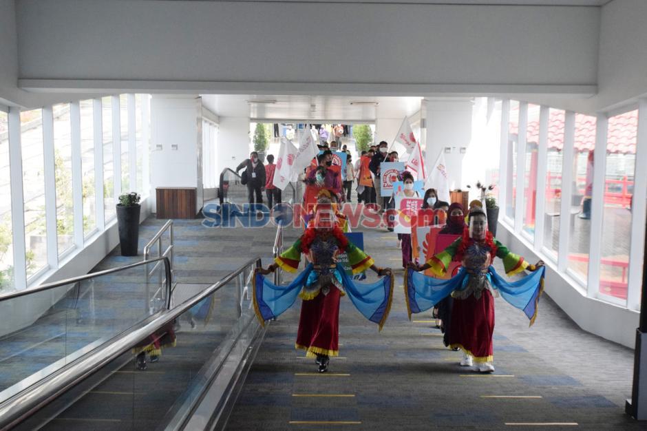 Kampanye Terbang Itu Aman di Bandara Ahmad Yani Semarang-4