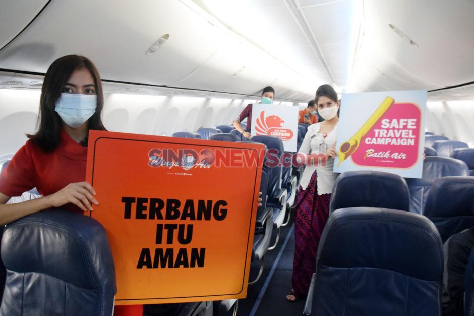 Kampanye Terbang Itu Aman di Bandara Ahmad Yani Semarang-5