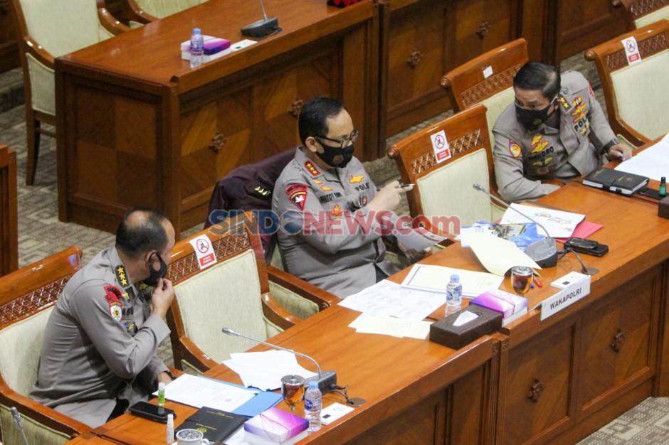 Wakaplri dan Komisi III Raker Bahas RKA 2021-4
