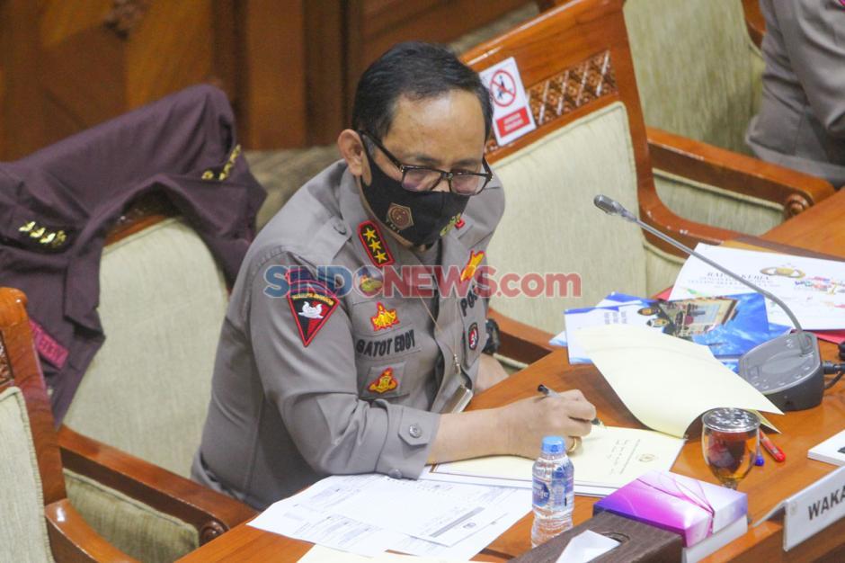 Wakaplri dan Komisi III Raker Bahas RKA 2021-5