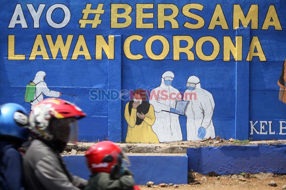 Melawan Corona Lewat Deretan Seni Mural-3