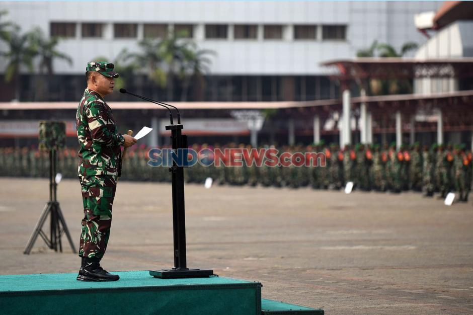 Pangdam Jaya Pimpin Gelar Pasukan Penegakan PSBB Total DKI Jakarta-5