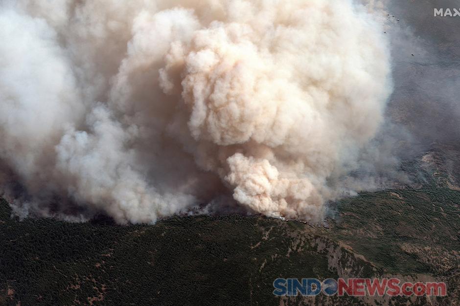 Kebakaran Hutan Hanguskan Lima Juta Hektar Lahan di AS-3