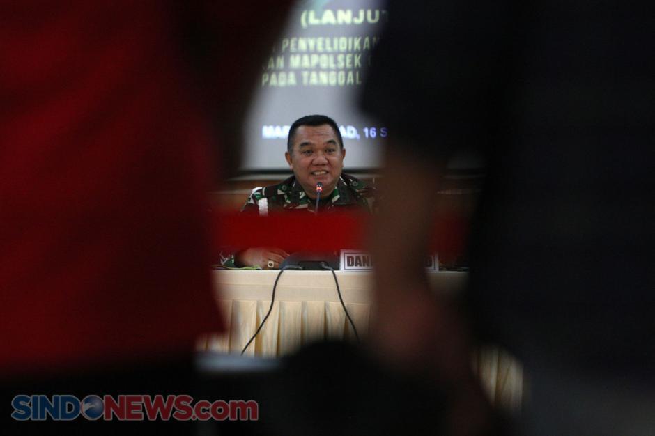 57 Personel TNI AD Ditetapkan Tersangka Kasus Perusakan Mapolsek Ciracas-2