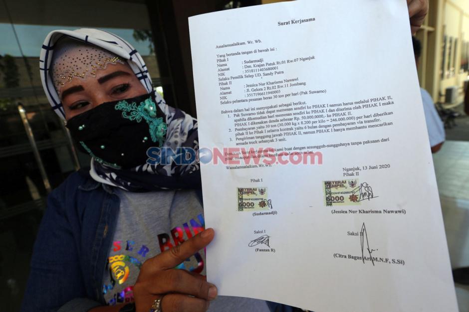 Tarik Investasi Bansos Fiktif, Jessica Dilaporkan ke Polda Jatim-0