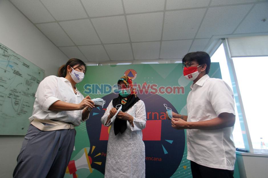 Dukung Pencegahan Covid-19, Aice-GP Ansor Donasi Masker-0