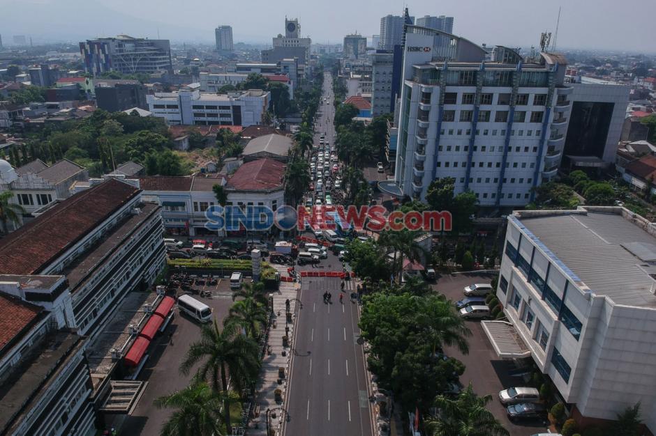 Pemkot Bandung Tutup Sejumlah Jalan Protokol-3