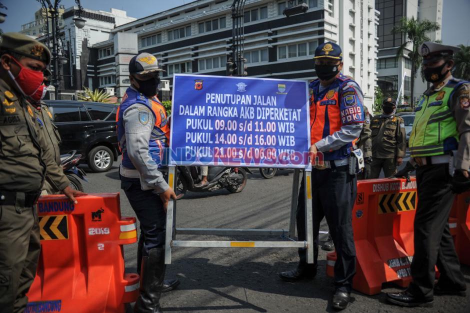 Pemkot Bandung Tutup Sejumlah Jalan Protokol-1