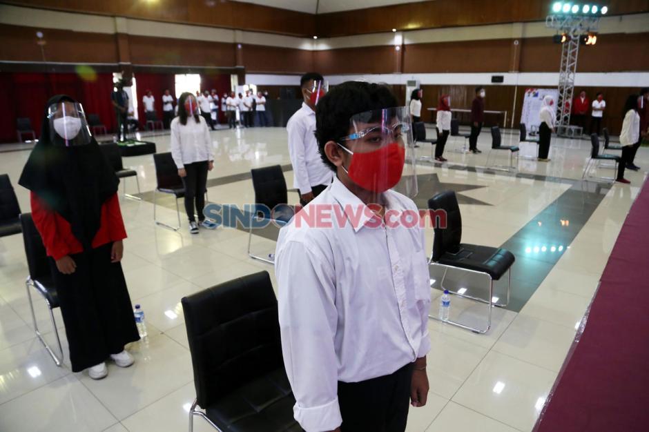 Ribuan Mahasiswa Baru Untag Ikuti PKKMB Virtual-5