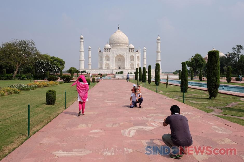 India Kembali Buka Taj Mahal di Tengah Meluasnya Kasus Covid-19-0