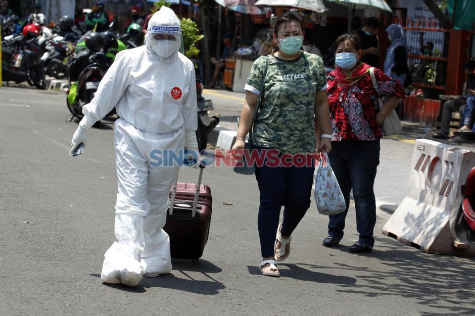 Alih Fungsi Bus Sekolah untuk Evakuasi Pasien Covid-19-6