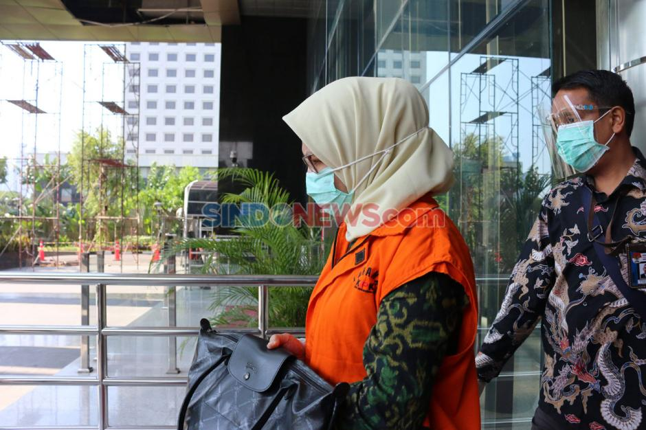 Terkait Korupsi Proyek Waskita, Desi Arryani Jalani Pemeriksaan Lanjutan di KPK-0
