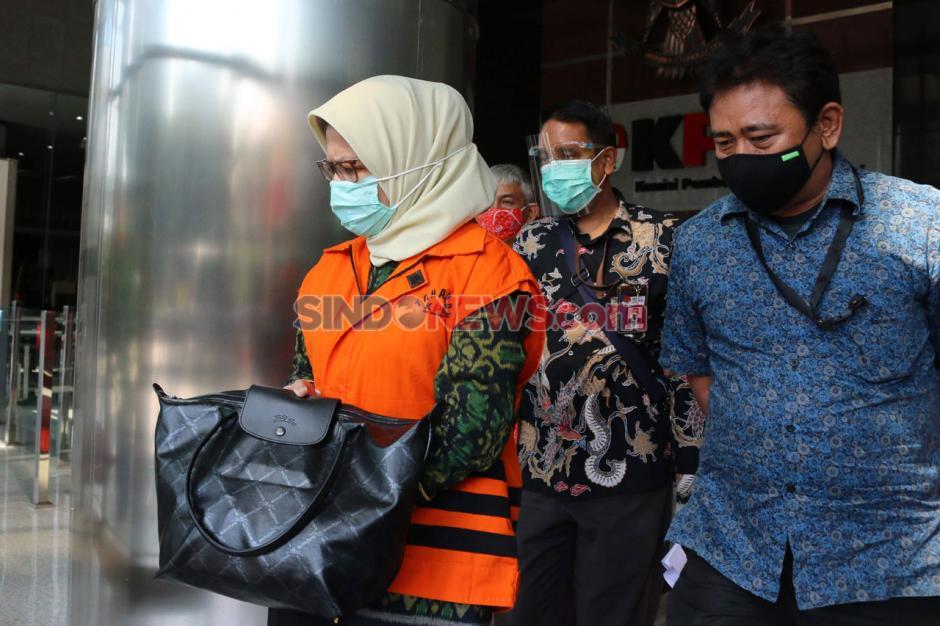 Terkait Korupsi Proyek Waskita, Desi Arryani Jalani Pemeriksaan Lanjutan di KPK-1
