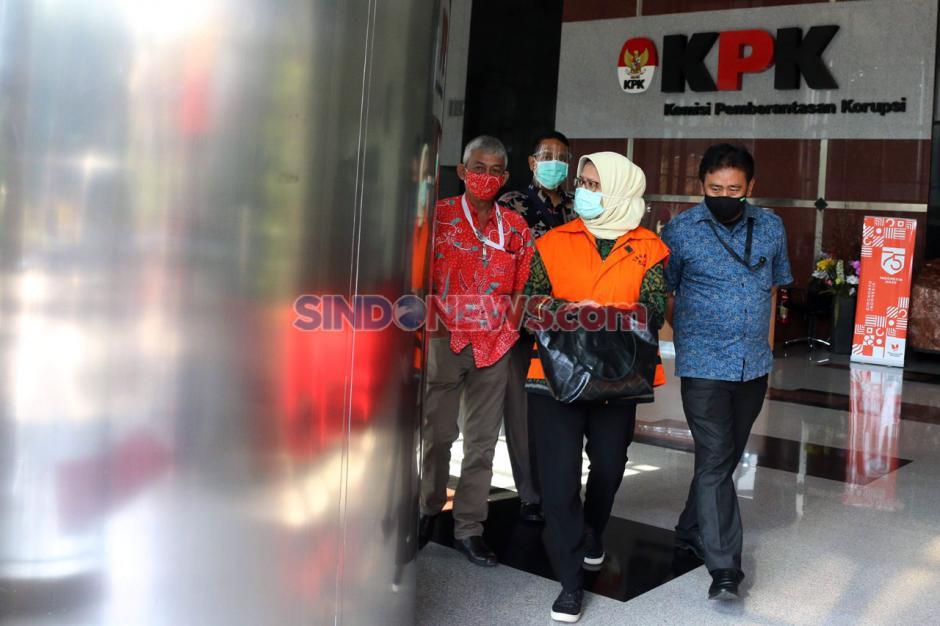 Terkait Korupsi Proyek Waskita, Desi Arryani Jalani Pemeriksaan Lanjutan di KPK-2
