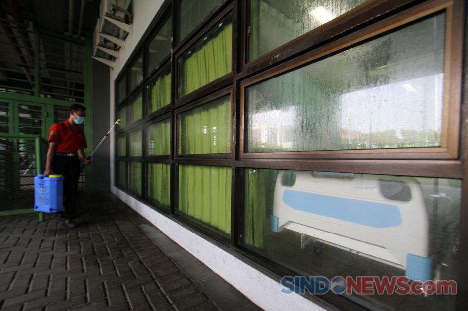 15 Pasien OTG Covid-19 Jalani Isolasi Mandiri di Stadion Patriot Chandrabhaga-4