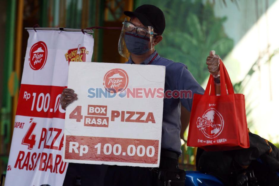Bertahan di Masa Pandemi, Pizza Hut Jualan di Pinggir Jalan-1