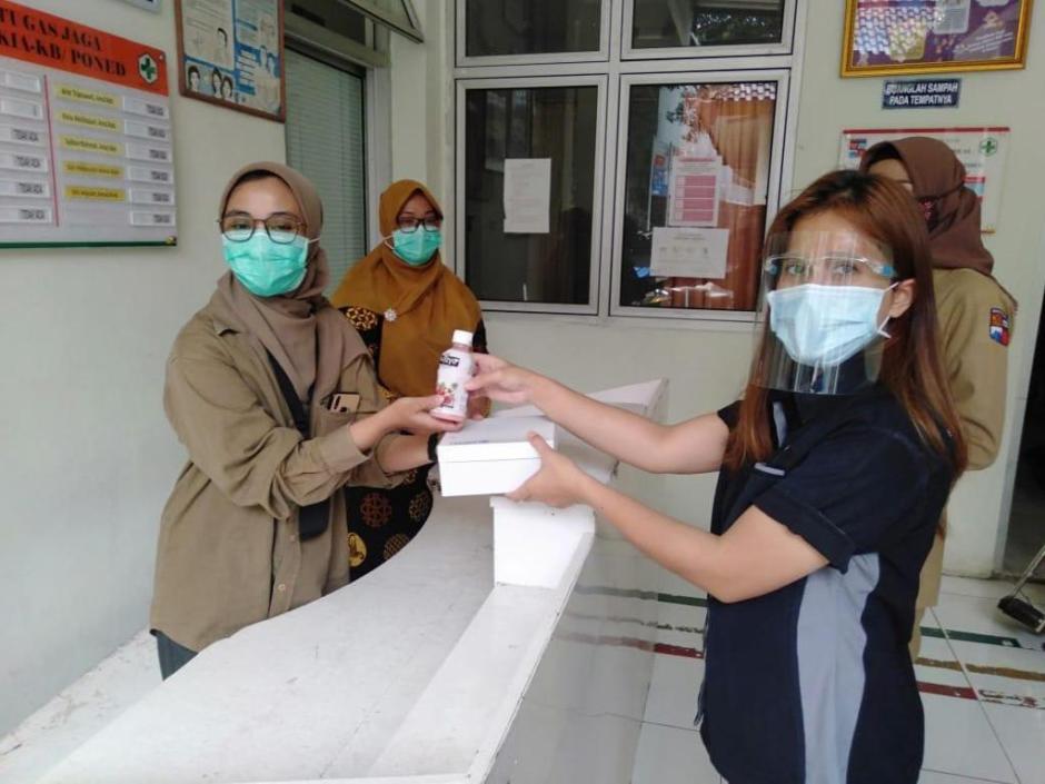 MNC Peduli Salurkan Makan Siang ke Puskesmas Tanah Sereal Bogor-2
