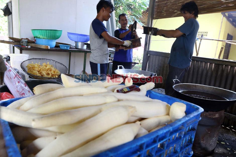 Bisnis Keripik Singkong di Tengah Pandemi Covid 19-0