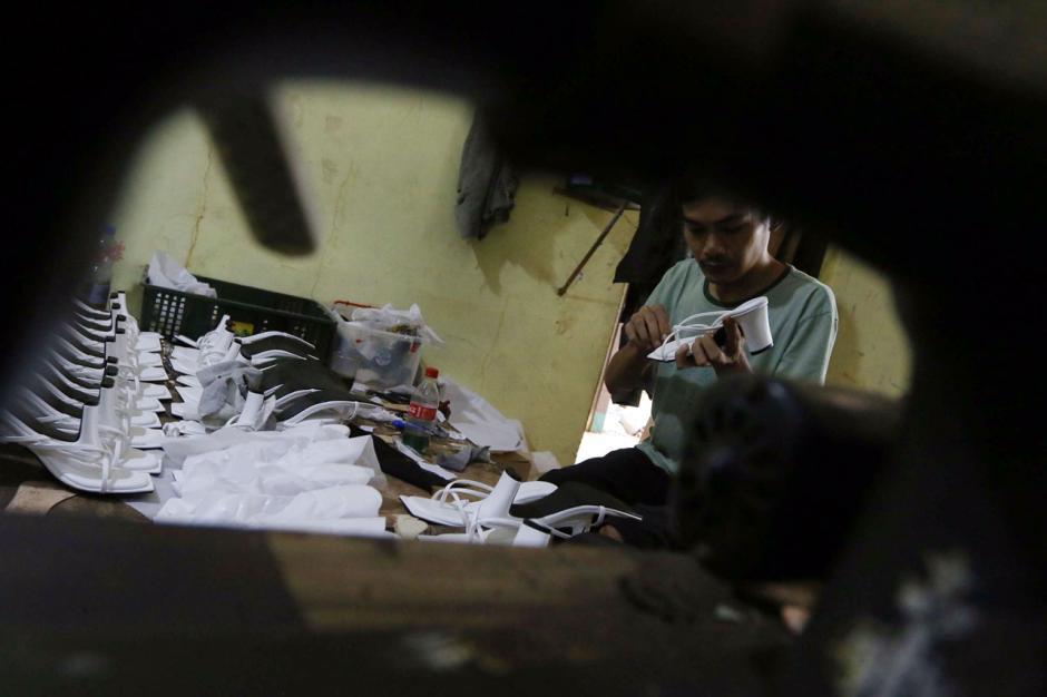 Industri Rumahan Sepatu Wanita di Tangsel Alami Penurunan Produksi Selama Pandemi-0