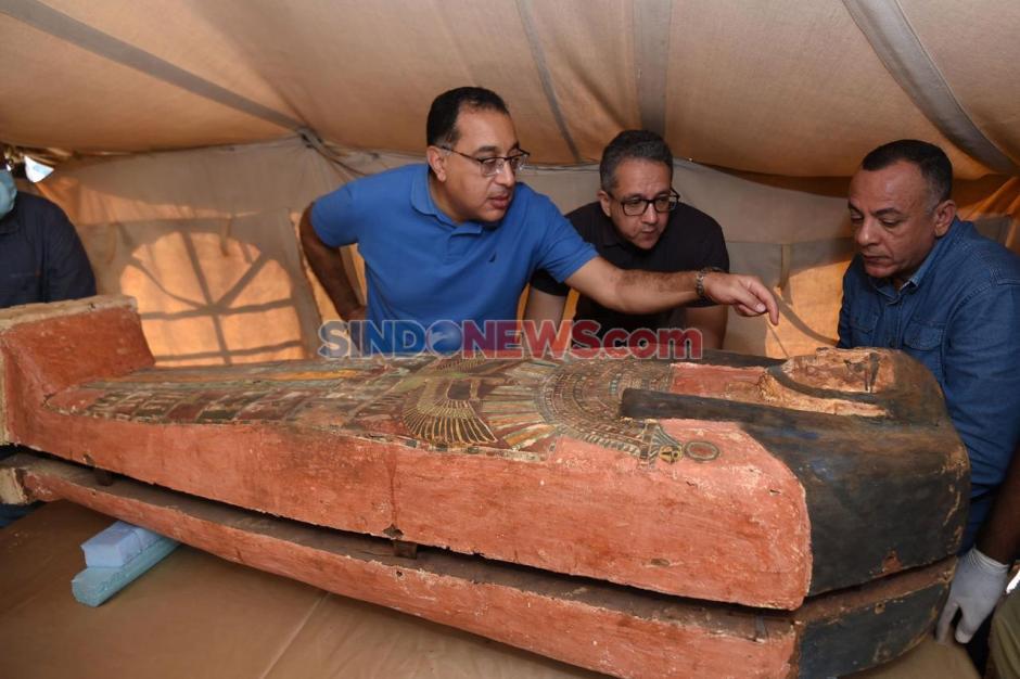 Penemuan Puluhan Peti Mati Kuno Berusia 2.500 Tahun di Mesir-2