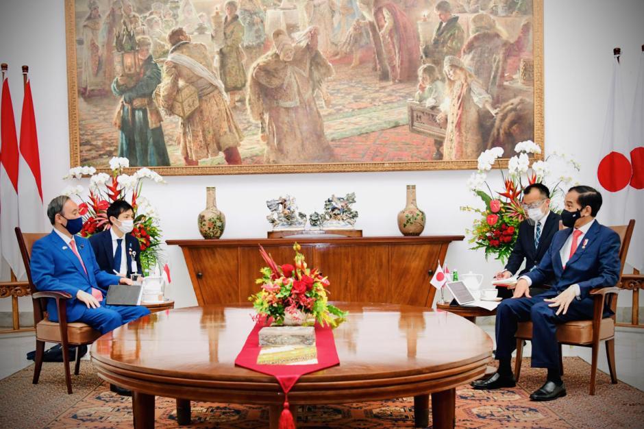 Presiden Jokowi Terima Kunjungan Kenegaraan PM Jepang Yoshihide Suga-1