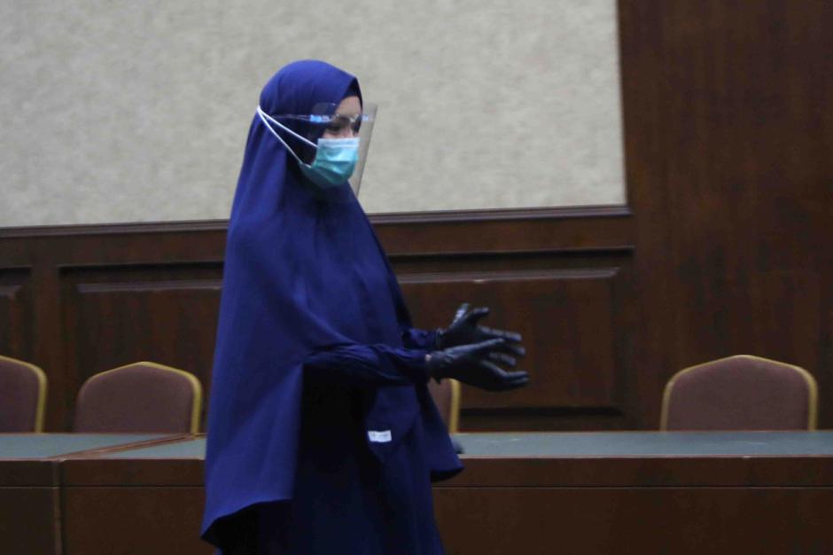 Jaksa Pinangki Jalani Sidang Lanjutan di Pengadilan Tipikor Jakarta-4