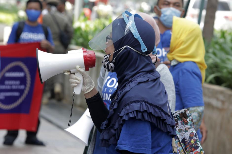 Nasabah AJB Bumiputera Gelar Aksi Desak Pembayaran Klaim Polis-2
