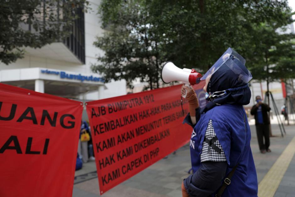 Nasabah AJB Bumiputera Gelar Aksi Desak Pembayaran Klaim Polis-1