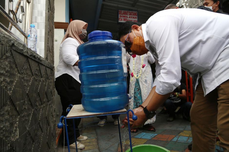 Calon Wali Kota Surabaya Machfud Arifin Janji Wujudkan Program Rp150 Juta Per RT-4