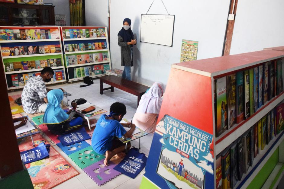 Semangat Belajar di Kampung Cerdas Desa Mojolegi Boyolali-0
