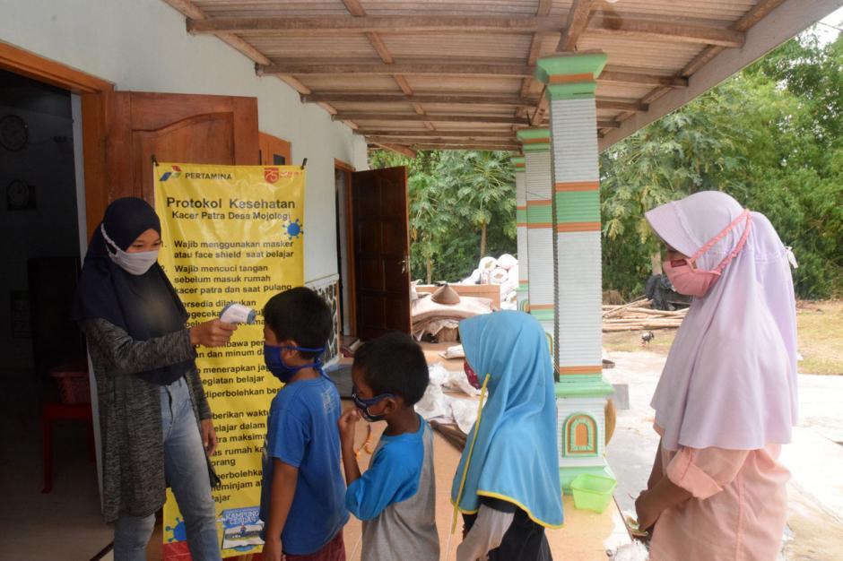Semangat Belajar di Kampung Cerdas Desa Mojolegi Boyolali-4