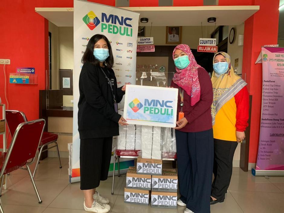 MNC Peduli Salurkan Makan Siang ke Puskesmas Jatibening dan Puskesmas Perumas 2 Bekasi-0