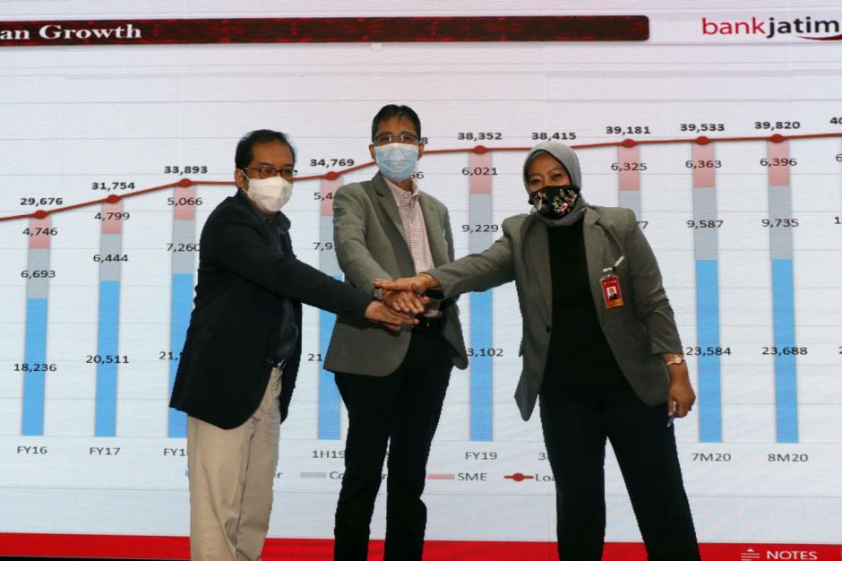Bank Jatim Catat Kinerja Positif di Tengah Pandemi Covid-19-0