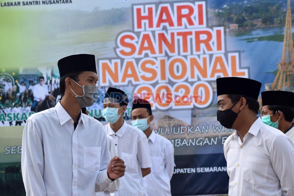 Peringatan Hari Santri Nasional 2020 di Radesa Wisata Tuntang-5