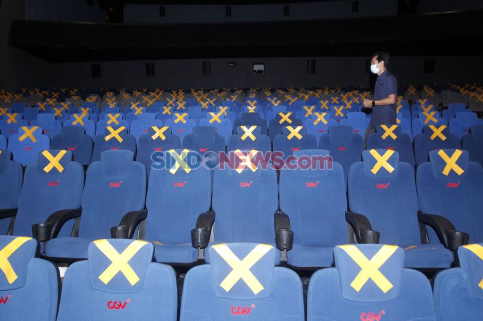 Suasana Bioskop CGV di Hari Kedua Beroperasi-5