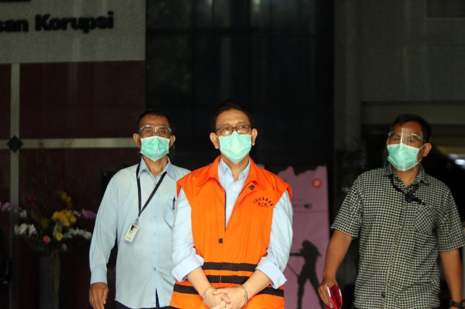KPK Tahan Dirut PT PAL Indonesia Budiman Saleh-2