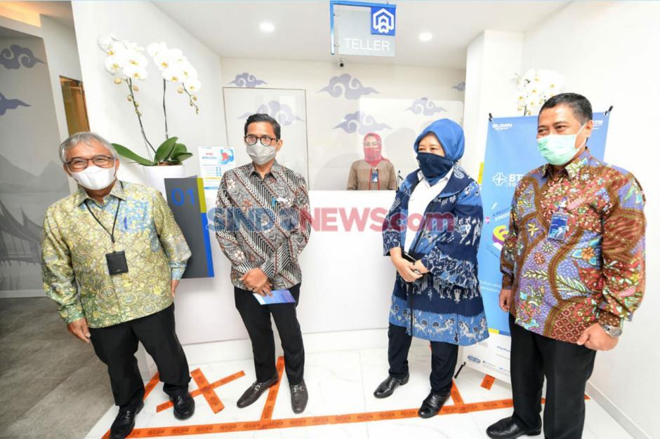 BTN Resmikan Lokasi Baru Kantor Cabang Pembantu Kementerian PUPR-2
